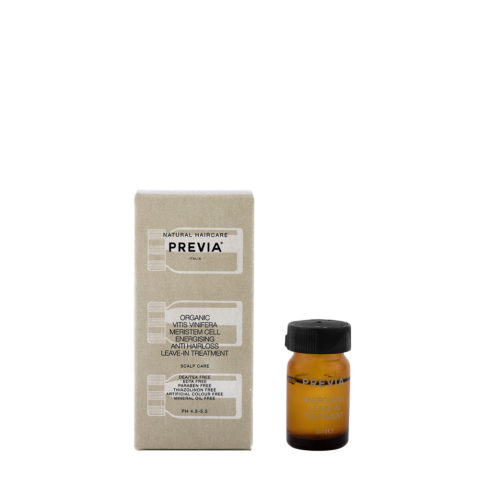 Previa Organic Vitis Vinifera Meristem Cell Energisign AntiHair Loss Leave in Treat 3x5ml
