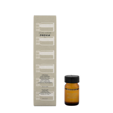 Previa Organic Vitis Vinifera Meristem Cell Energisign AntiHair Loss Leave in Treat 12x5ml