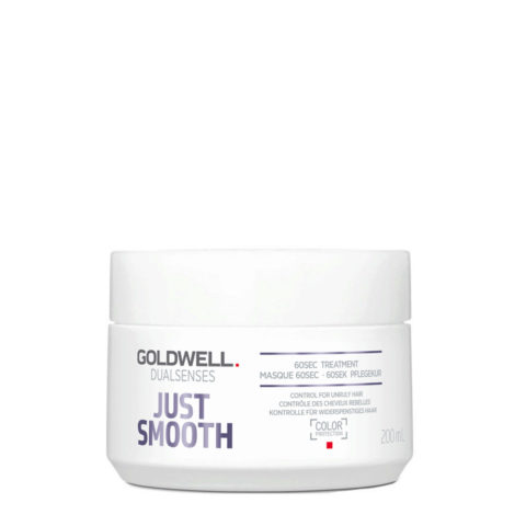 Goldwell Dualsenses Just Smooth Tratamiento 60 seg. 200ml - Tratamiento anti-Frizz