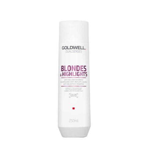 Goldwell Dualsenses blond & highlights Anti Yellow shampoo 250ml - Champú anti-amarillo