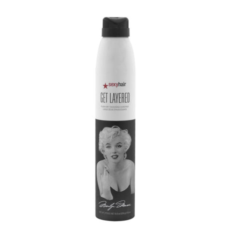Big Sexy hair Get Layered Limited Ed Marilyn Monroe 275ml - Laca Fijación Media
