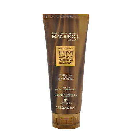 Alterna Bamboo Smooth PM Overnight Smoothing Treatment 150ml - tratamiento anti-encrespamiento