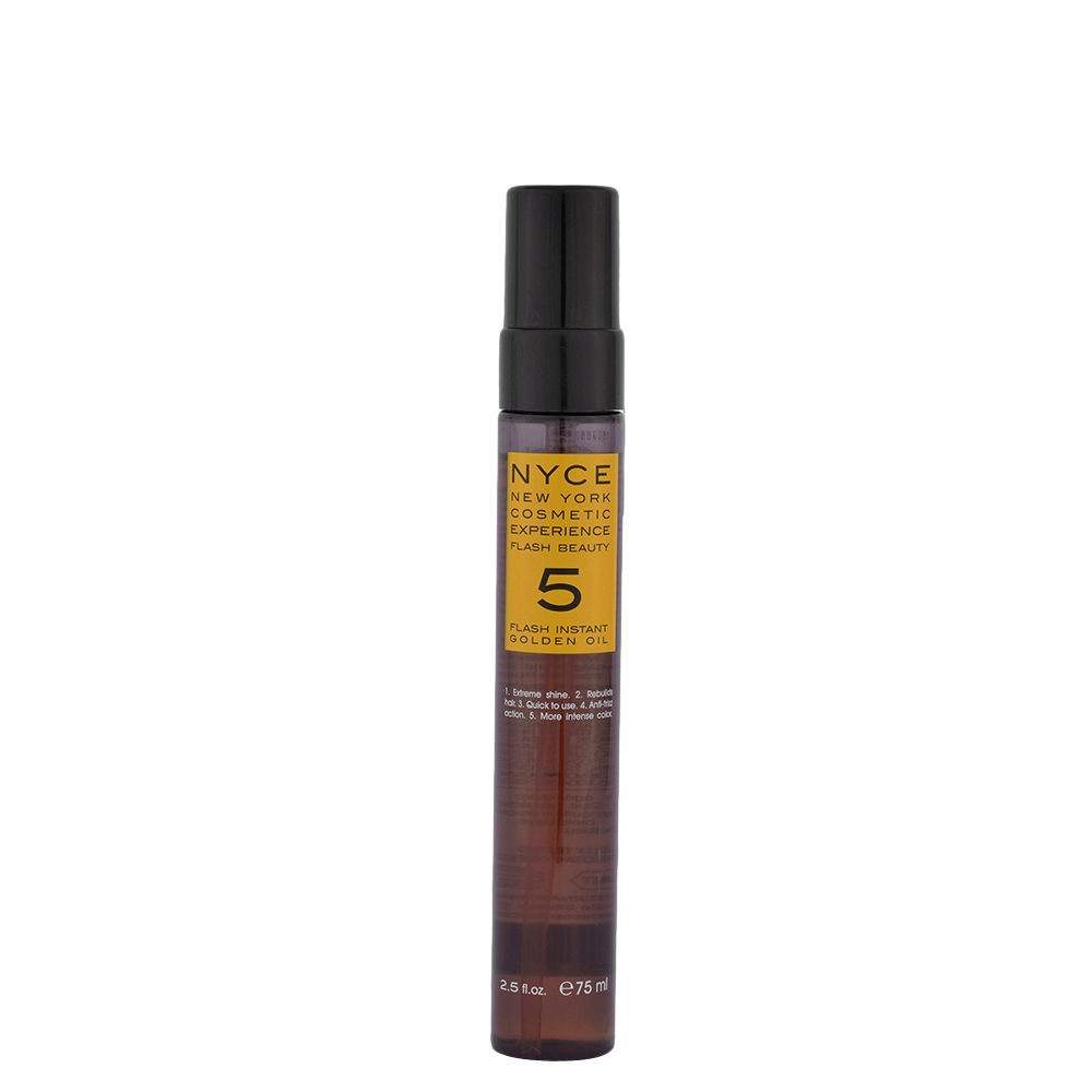 Nyce Flash Beauty Instant Golden Oil 75ml - aceite Reestructurante cabello seco