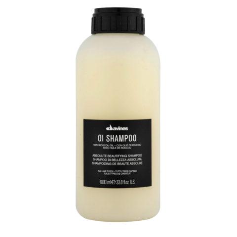 Davines OI Shampoo 1000ml - Champú multibenefit