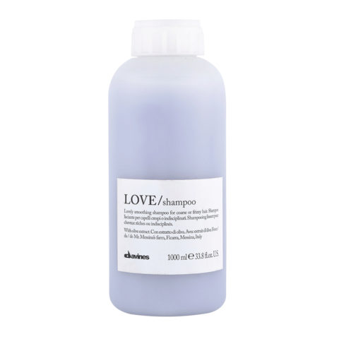Davines Essential hair care Love smooth Shampoo 1000ml - Champú estrenante