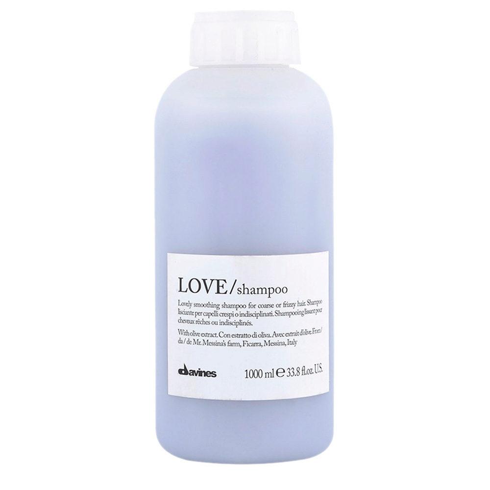Davines Essential hair care Love smooth Shampoo 1000ml - Champú estrenante