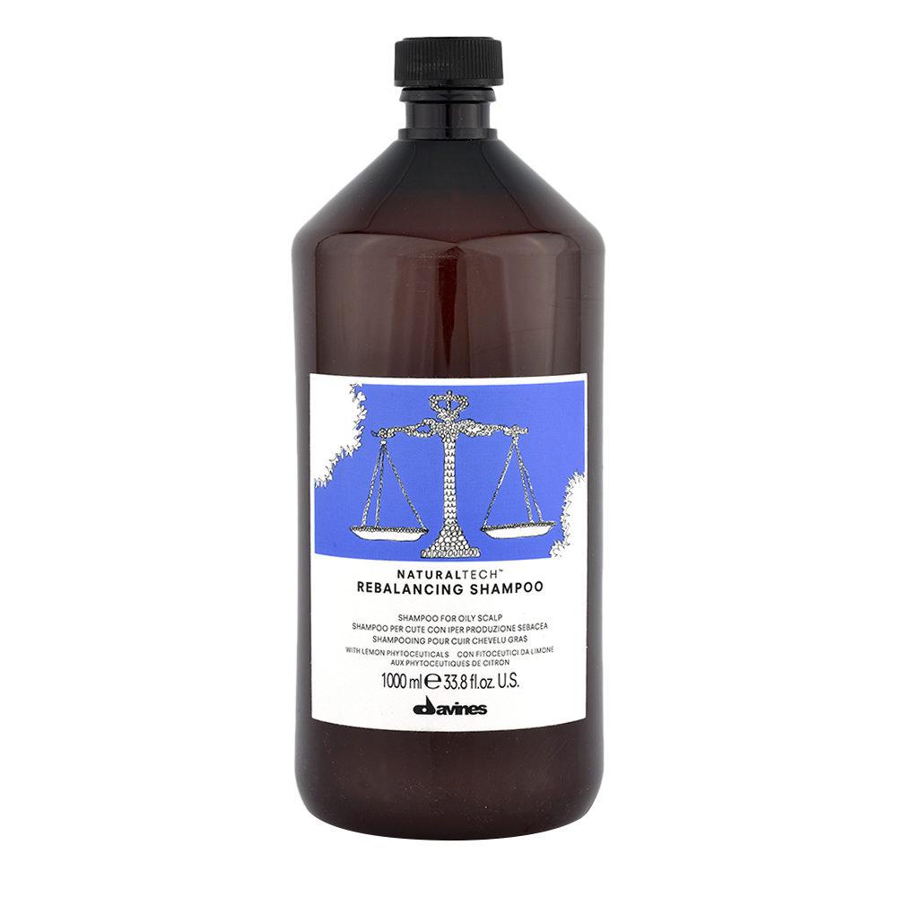 Davines Naturaltech Rebalancing Shampoo 1000ml - Champú reequilibrante