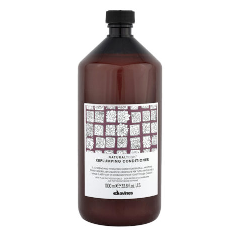 Davines Naturaltech Replumping Conditioner 1000ml - Acondicionador elastizante