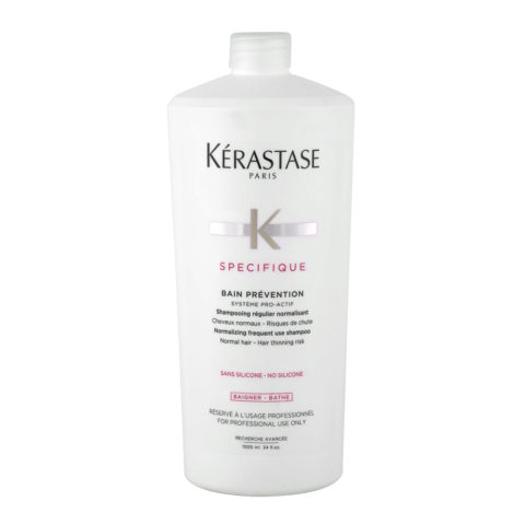 Kerastase Specifique Bain Prevention 1000ml - Champú anti - caída