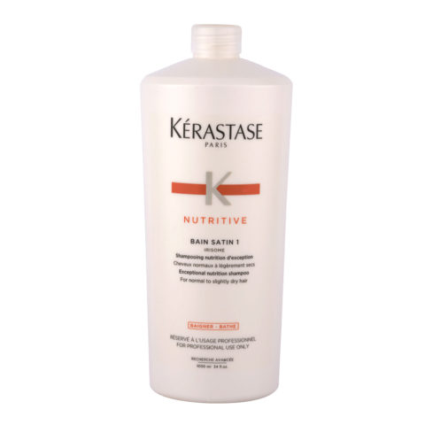 Kerastase Nutritive Bain satin 1, 1000ml - Champú Para Cabello Normal o Seco