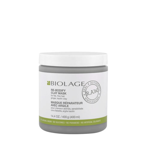 Biolage R.A.W. Re-Bodify Mask 400ml - Mascarilla