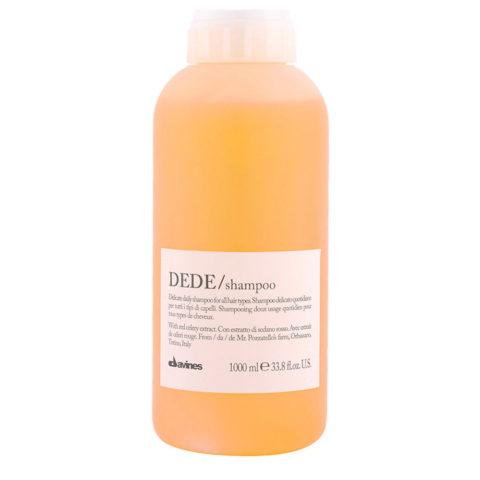 Davines Essential hair care Dede Shampoo 1000ml - Champú suave diario