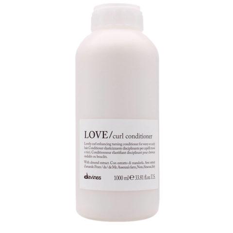 Davines Essential hair care Love curl Conditioner 1000ml - Acondicionador disciplinante