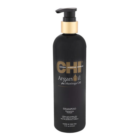 CHI Argan Oil plus Moringa Oil Shampoo 355ml - champù de nutrición