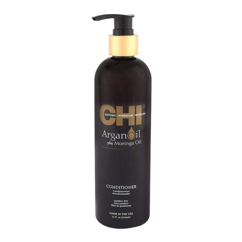 CHI Argan Oil plus Moringa Oil Conditioner 355ml - acondicionador de nutrición