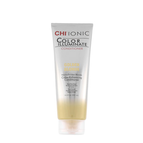 CHI Ionic Color Illuminate Conditioner Golden Blonde 251ml - rubio dorado acondicionador