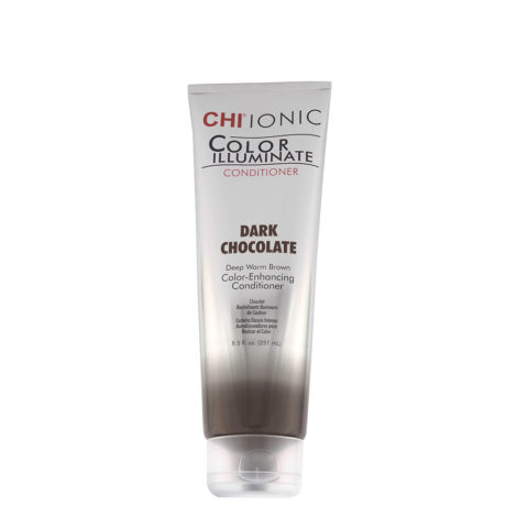 CHI Ionic Color Illuminate Conditioner Dark Chocolate 251ml - castaño oscuro intenso acondicionador