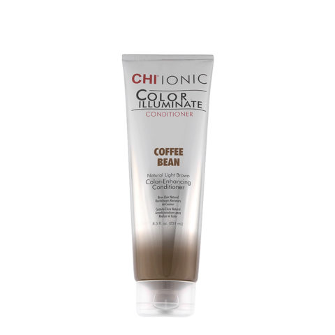 CHI Ionic Color Illuminate Conditioner Coffee Bean 251ml - castaño claro natural acondicionador