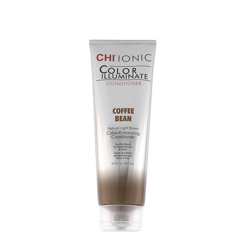CHI Ionic Color Illuminate Conditioner Coffee Bean 251ml - castaño claro natural acondicionador