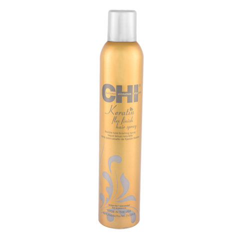 CHI Keratin Flex Finish Hairspray 284gr - Spray para cabello de fijaciòn flexible
