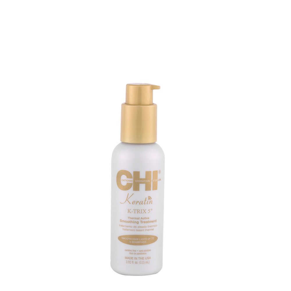 CHI Keratin K-Trix 5 Smoothing Treatment 115ml - Tratamiento de alisado termico