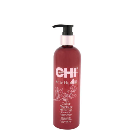 CHI Rose Hip Oil Protecting Shampoo 340ml - champù protector