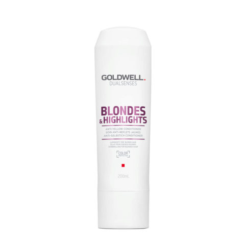 Goldwell Dualsenses blond & highlights Anti-Yellow Conditioner 200ml - Acondicionador anti-amarillo