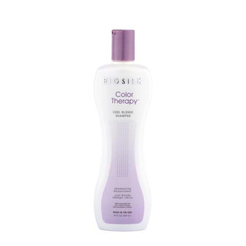 Biosilk Color Therapy Cool Blonde Shampoo 355ml - champù rubios