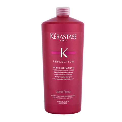 Kerastase Reflection Bain Chromatique 1000ml - Champú Cabello Coloreado y Fino