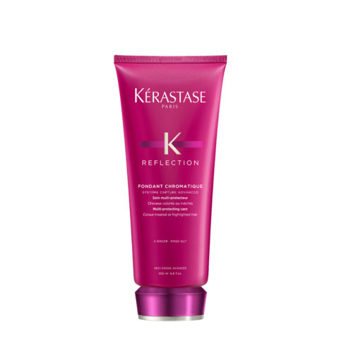 Kerastase Reflection Fondant Chromatique 200ml - Tratamiento Cabello Coloreado, Tratado, con Mechas