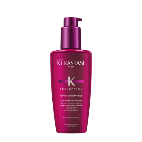 Kerastase Reflection Fluide Chromatique 125ml - Fluido Ilumiador Cabello Coloreado, Tratado, con Mechas