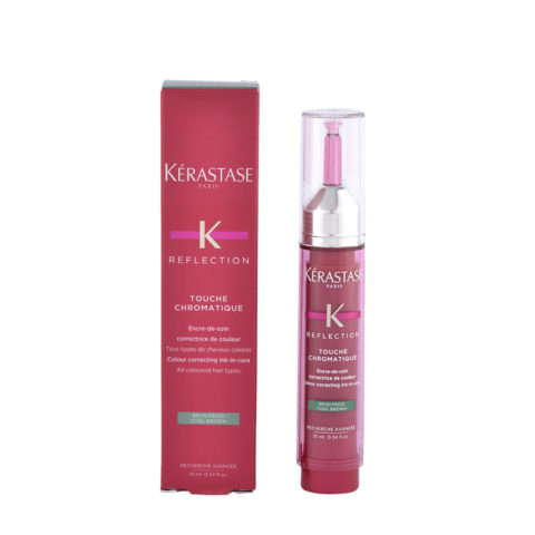 Kerastase Reflection Touche Chromatique Cool Brown 10ml Neutralizante Castaño Frio