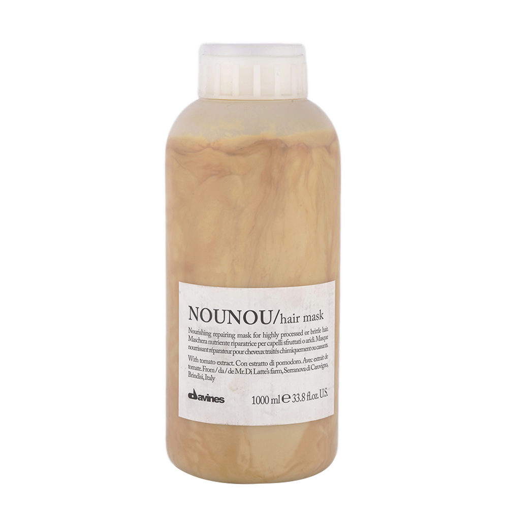 Davines Essential hair care Nounou Hair Mask 1000ml - Mascarilla Nutritiva y Reparadora