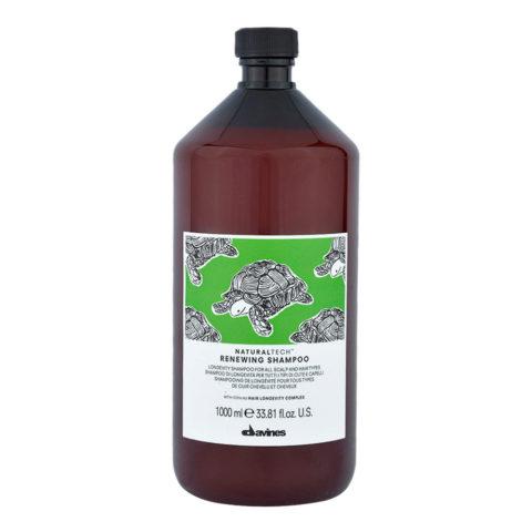 Davines Naturaltech Renewing Shampoo 1000ml - champù de longevidad todos los cabellos
