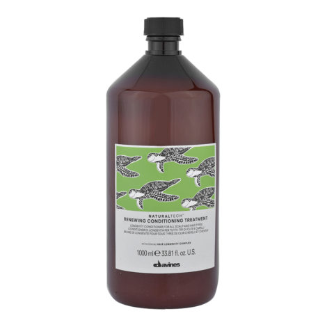 Davines Naturaltech Renewing Conditioning Treatment 1000ml - acondicionador de longevidad