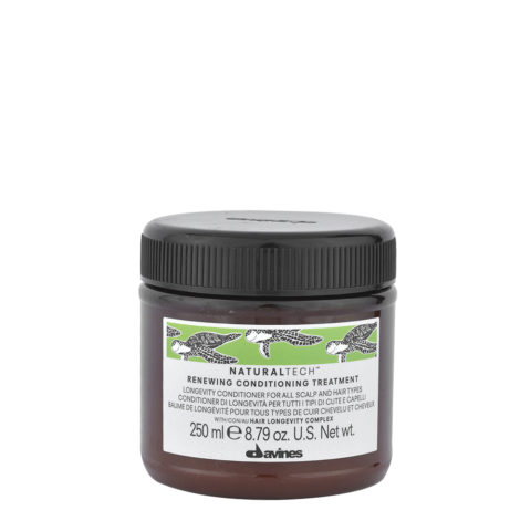 Davines Naturaltech Renewing Conditioning Treatment 250ml - acondicionador de longevidad