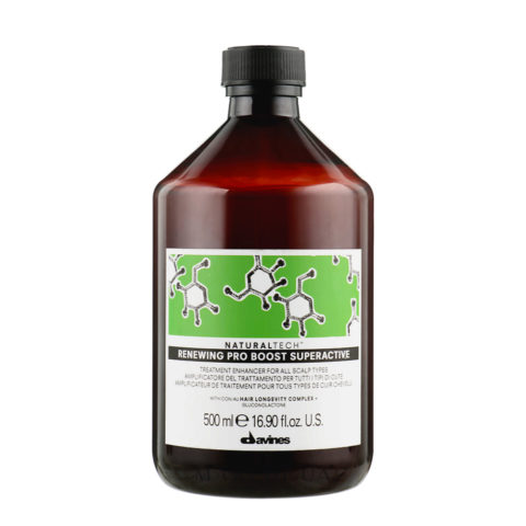 Davines Naturaltech Renewing Pro Boost Superactive 500ml - Exfoliating fluid