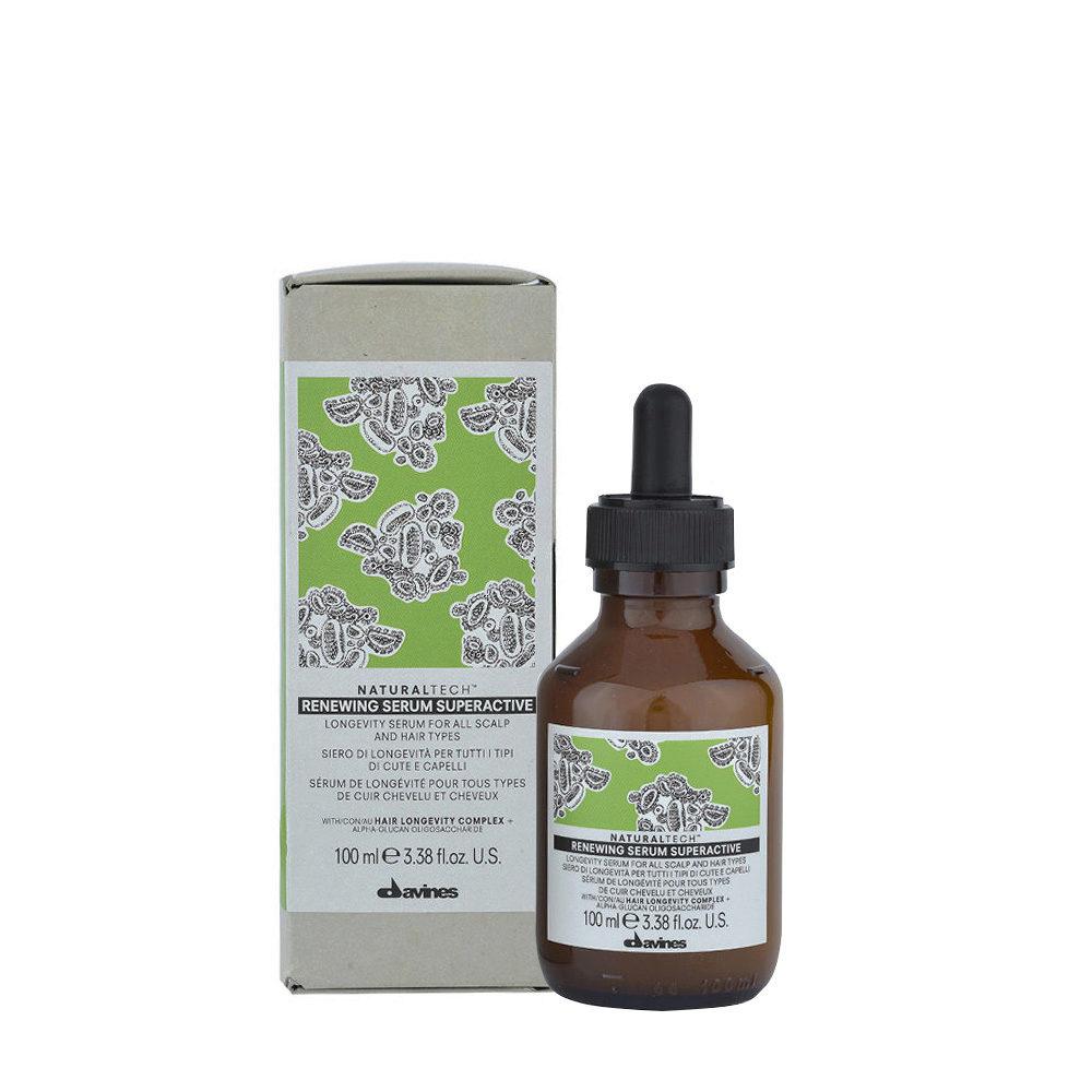 Davines Naturaltech Renewing Serum Superactive 100ml - Suero de longevidad