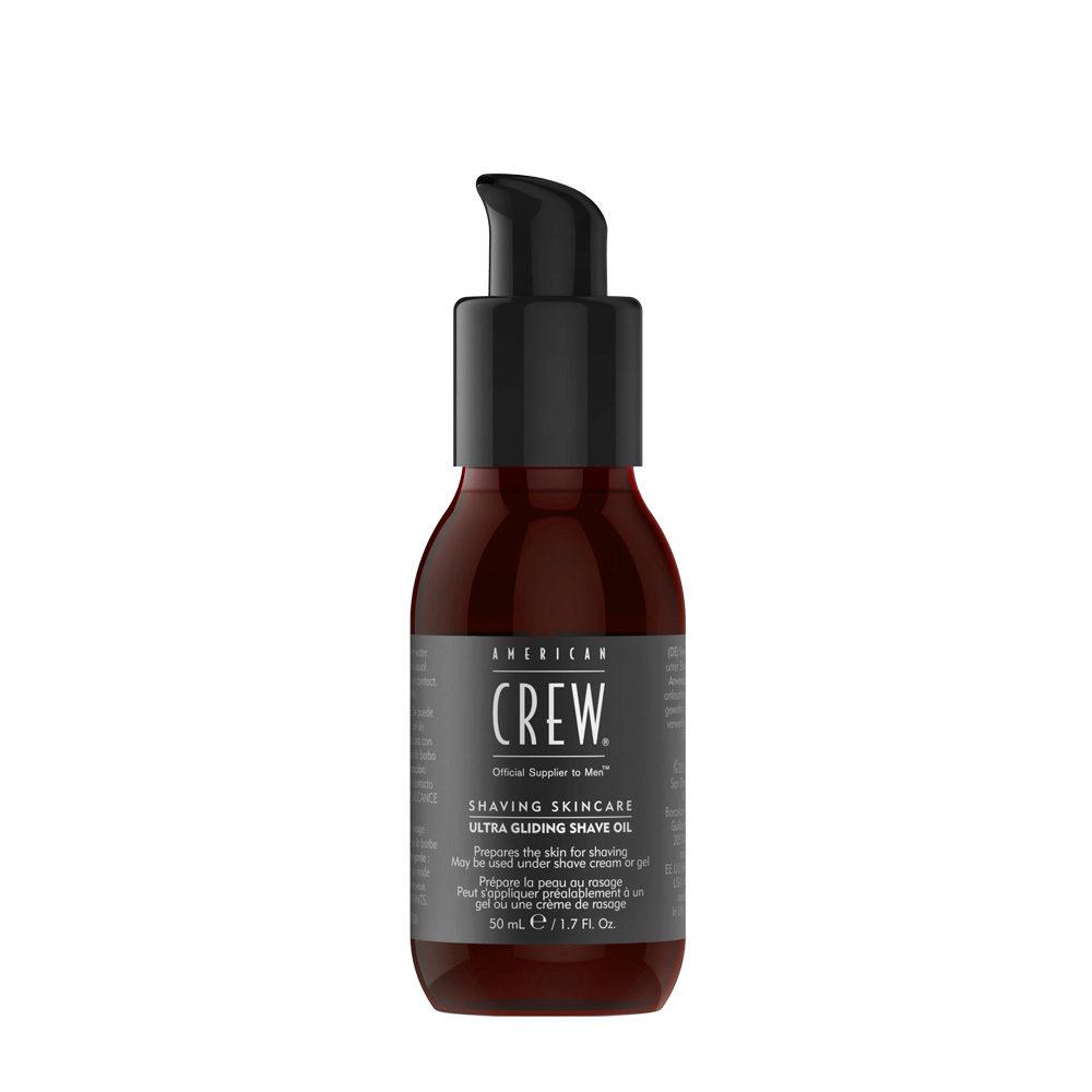 American crew Shave Ultra Gliding Shave Oil 50ml - Aceite protector de pre-afeitado