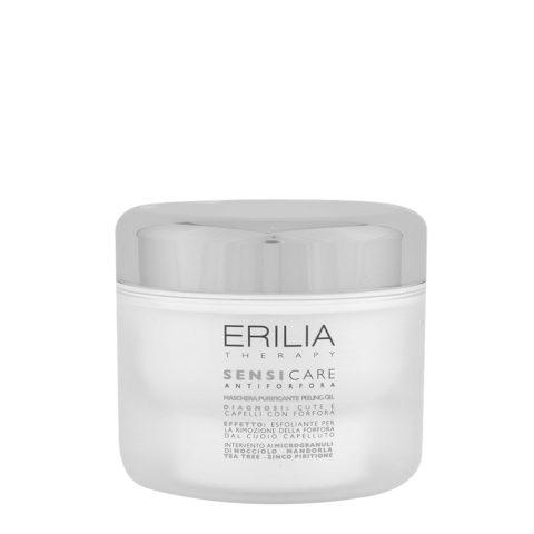 Erilia Sensicare Maschera Purificante Peeling Gel 200ml - mascarilla anticaspa