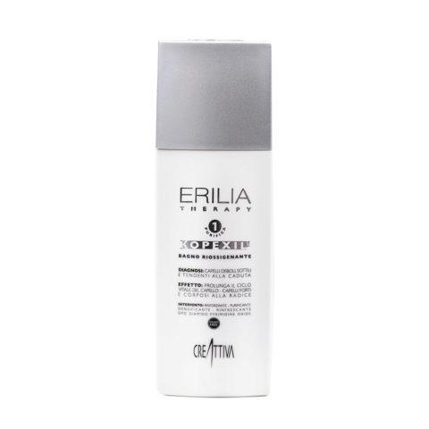 Erilia Kopexil Bagno Riossigenante 250ml - champù para cabello débil y delgado