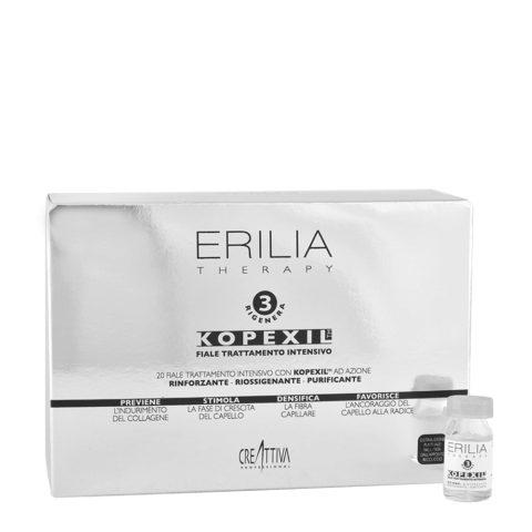Erilia Kopexil Fiale Trattamento Intensivo Azione Urto 20x8ml - Tratamiento intensivo para cabello débil