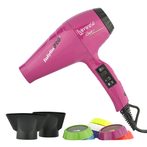 Babyliss Pro Secador BAB6350IFE Luminoso Rosa