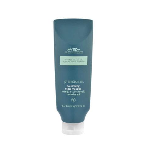 Aveda Haircare Pramasana Nourishing Scalp Masque 500ml - mascarilla para el cuero cabeludo