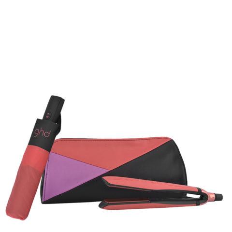 GHD Pink Blush Platinum Limited Ed. - Plancha platinum   Ombrello GHD omaggio