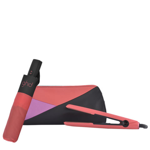 GHD Pink Blush V Classic Styler Limited Ed. - plancha    Ombrello GHD omaggio