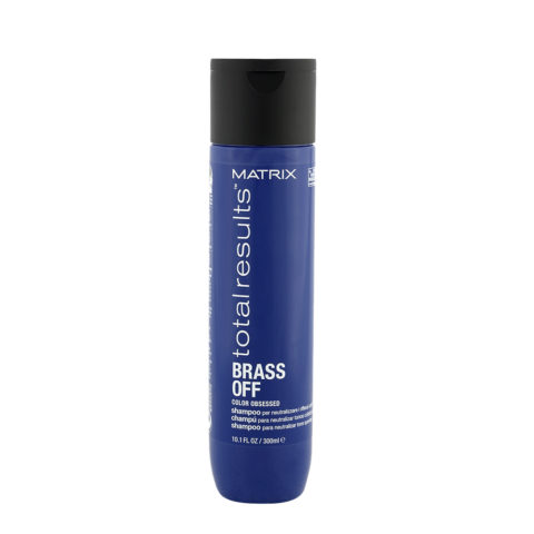 Matrix Total Results Brass Off Shampoo 300ml - champù para neutralizar tonos cobrizos