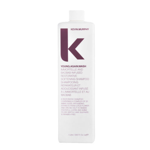 Kevin murphy Shampoo Young again wash 1000ml - Champù reconstructor