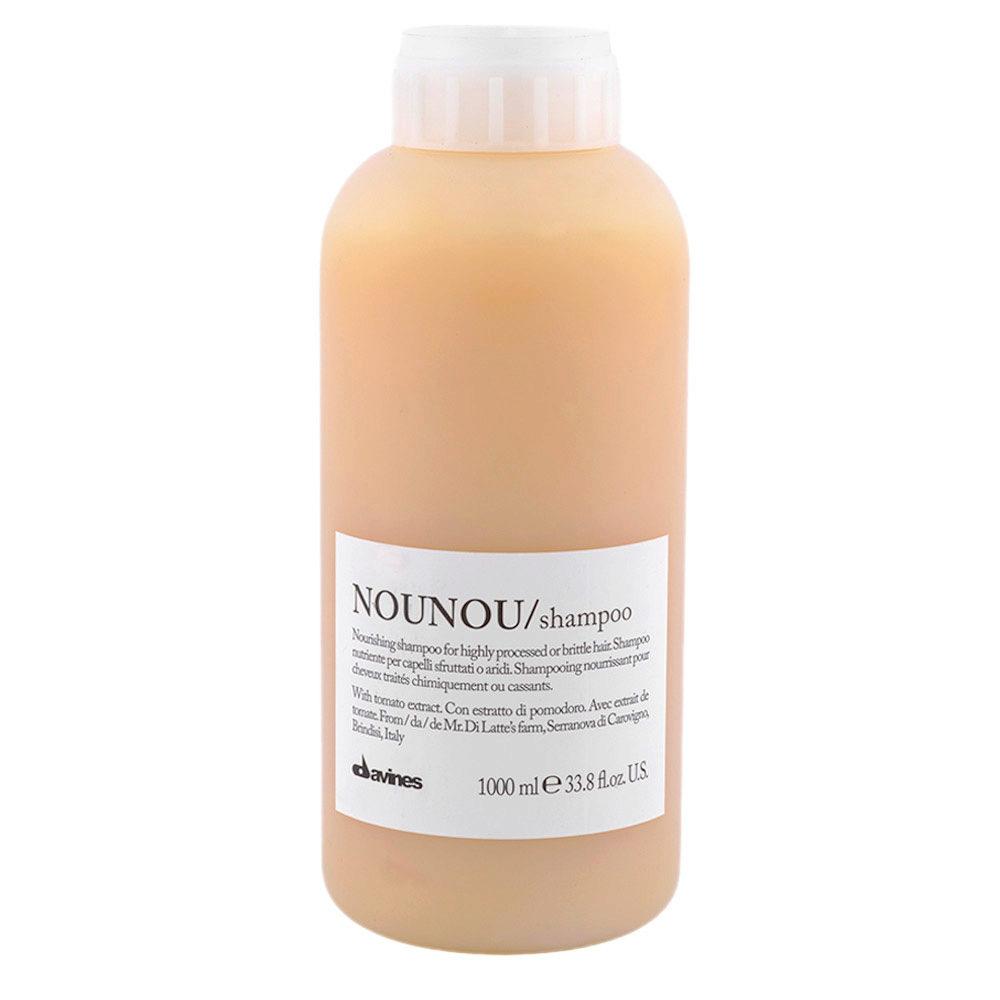 Davines Essential hair care Nounou Shampoo 1000ml - Champú nutritivo