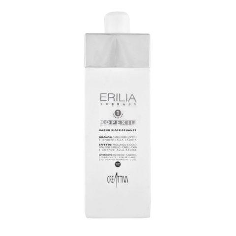 Erilia Kopexil Bagno Riossigenante 750ml -  champù para cabello débil y delgado